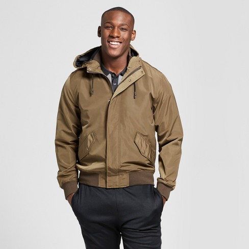 Men's Bomber Jacket With Hood - Goodfellow & Co™ Olive - image 1 of 2