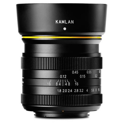 KamLan 21mm f/1.8 Manual Focus Lens for Mirco Four Thirds Mount - image 1 of 4