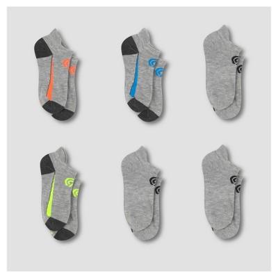 f660f2a6fb58 Boys  6pk Heel Shield Performance Socks - C9 Champion®