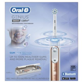Oral-B 9600 Electric Toothbrush 3 Brush Heads Powered by Braun Rose Gold