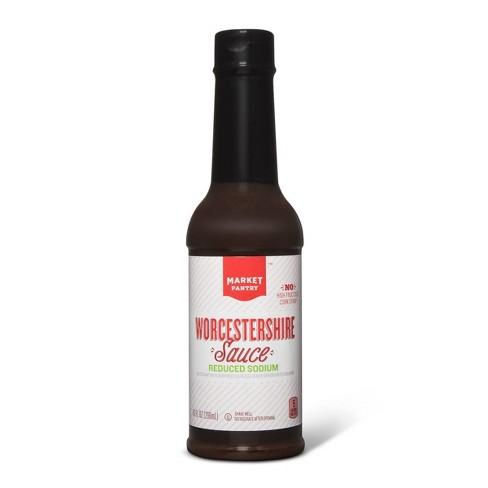 Worcestershire Sauce Reduced Sodium 10fl oz - Market Pantry™ - image 1 of 1