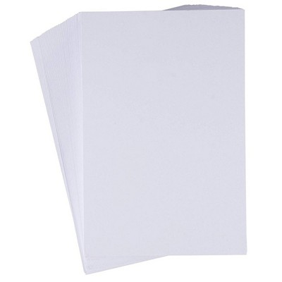 Sustainable Greetings 200 4x6 Heavyweight White Cardstock Index Card, 110lb 300GSM Unruled Thick Paper