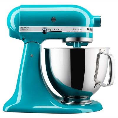 KitchenAid Refurbished Artisan Series Stand Mixer - Blue RRK150ON