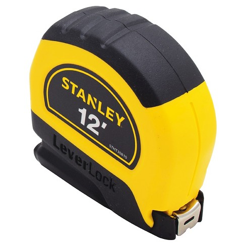 Stanley 12 Leverlock Tape Measure Stht30810 Target