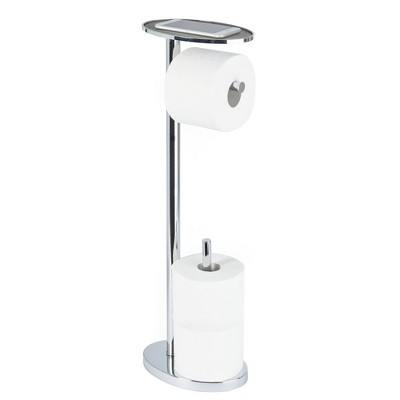 Ovo Toilet Caddy Chrome - Better Living Products