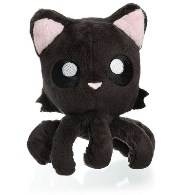 Tentacle Kitty Tentacle Kitty Little Ones 4 Inch Plush | Black