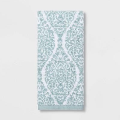 Performance Ogee Hand Towel Aqua Ogee - Threshold™