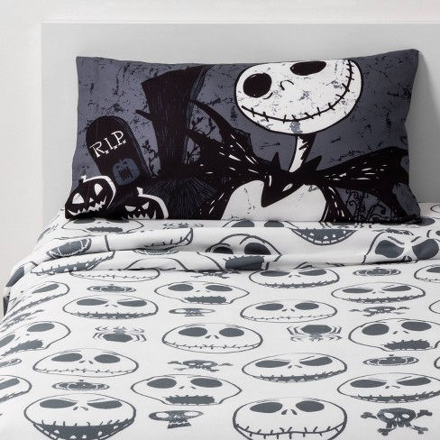 Twin The Nightmare Before Christmas Sheet Set Target