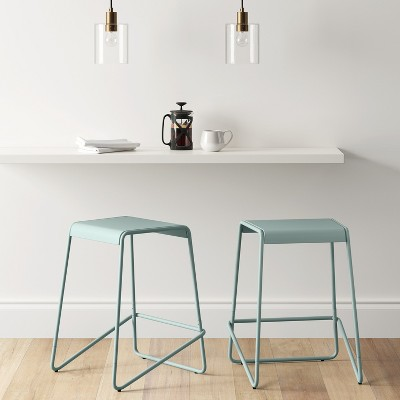 24  Metal Counter Stool Mint - Project 62™