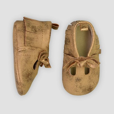 Baby Girls' Moccasin Flats - Just One You® made by carter's Brown 0-3M