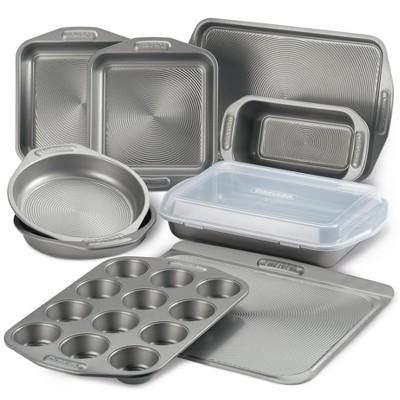 Circulon 10pc Bakeware Nonstick Set Gray