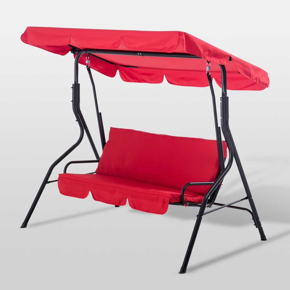 Red Swing Chair - Red - Sunjoy