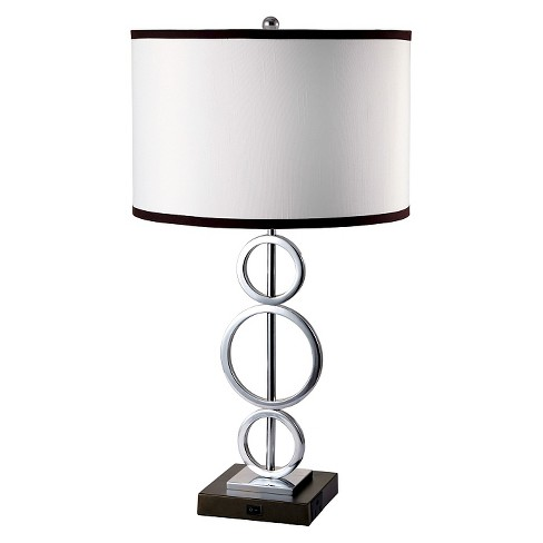 Ore International Table Lamp - Black - image 1 of 1