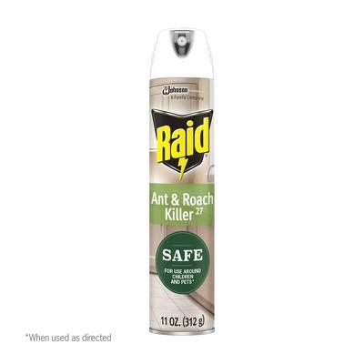 Raid Ant & Roach Plant Aerosol - 11oz
