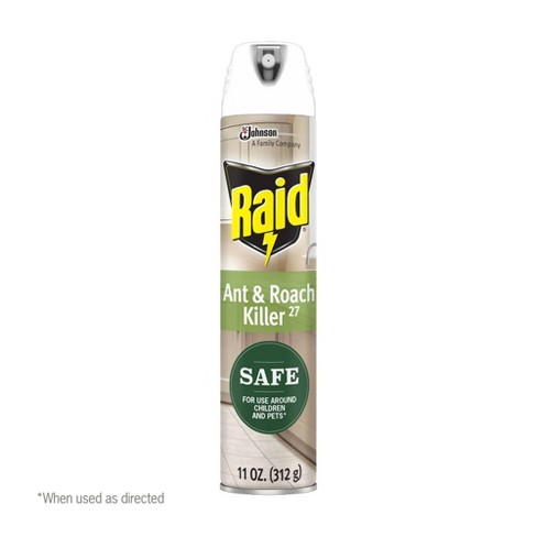 Raid 11oz Ant & Roach Killer with Essential Oils - image 1 of 4