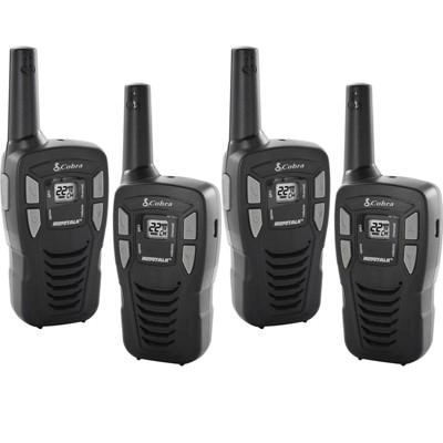Cobra 16-Mile 22-Channel FRS/ GMRS Walkie Talkie 2-Way Radios, CX112 (2 Pair)