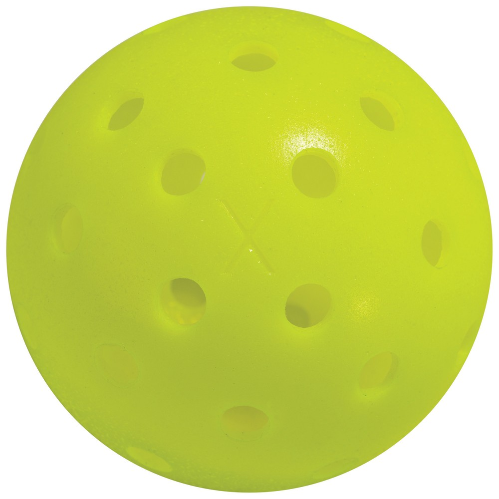 Franklin Sports X-40 Performance Usapa Approved Outdoor Pickleballs Yellow - 12pk