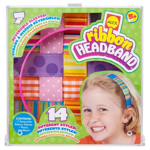ALEX Toys Do-it-Yourself Wear Ribbon Headbands - image 1 of 3
