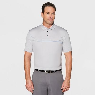 5eb829a4c5 Jack Nicklaus Men s Oxford Polo Shirt - Micro Chip Light Gray