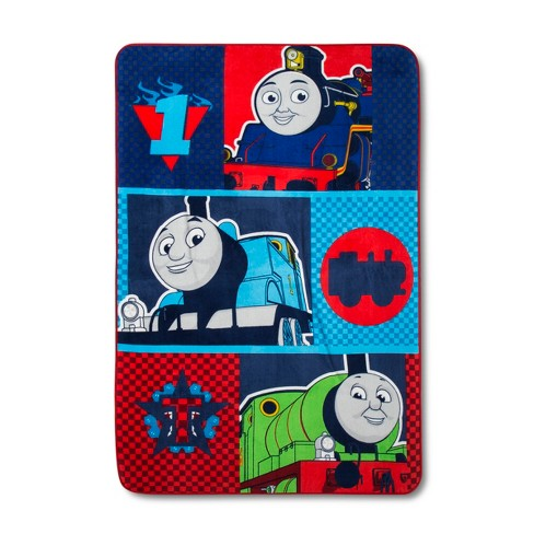 Thomas & Friends® Thomas the Tank Engine Blue & Red  Bed Blanket (Twin) - image 1 of 1