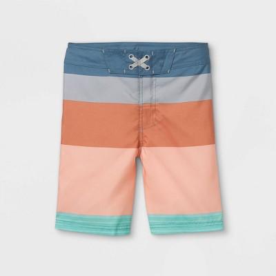 Boys' Colorblock Swim Trunks - art class™