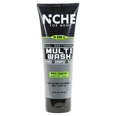 Niche For Men© Embered Cedar All Natural Multi-Wash - 8.5oz - image 1 of 2