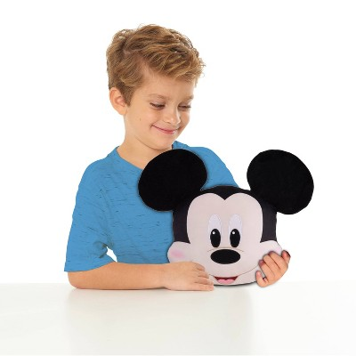 Mickey Mouse Character Head Plush