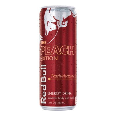 Red Bull Peach Energy Drink - 12 fl oz Can