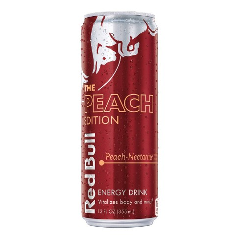 Red Bull Peach Energy Drink - 12 fl oz Can - image 1 of 1