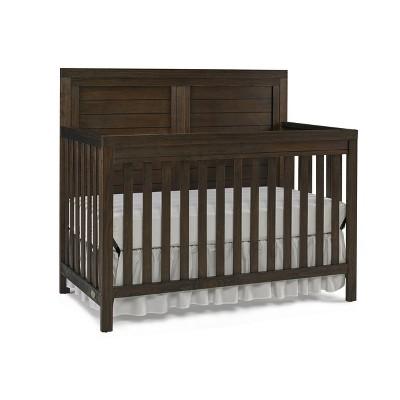 Ti Amo Castello 4-in-1 Standard Full-Sized Convertible Crib - Brown