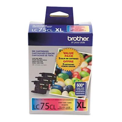 Brother LC753PKS Innobella High-Yield Ink Cyan/Magenta/Yellow 3/PK