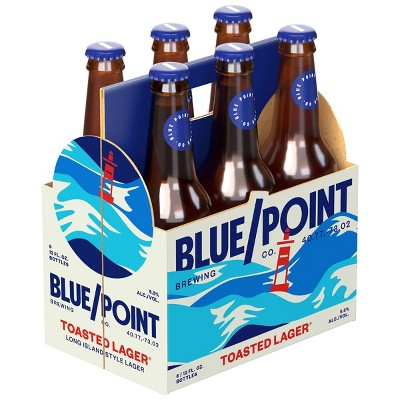 Blue Point Toasted Lager Beer - 6pk/12 fl oz  Cans
