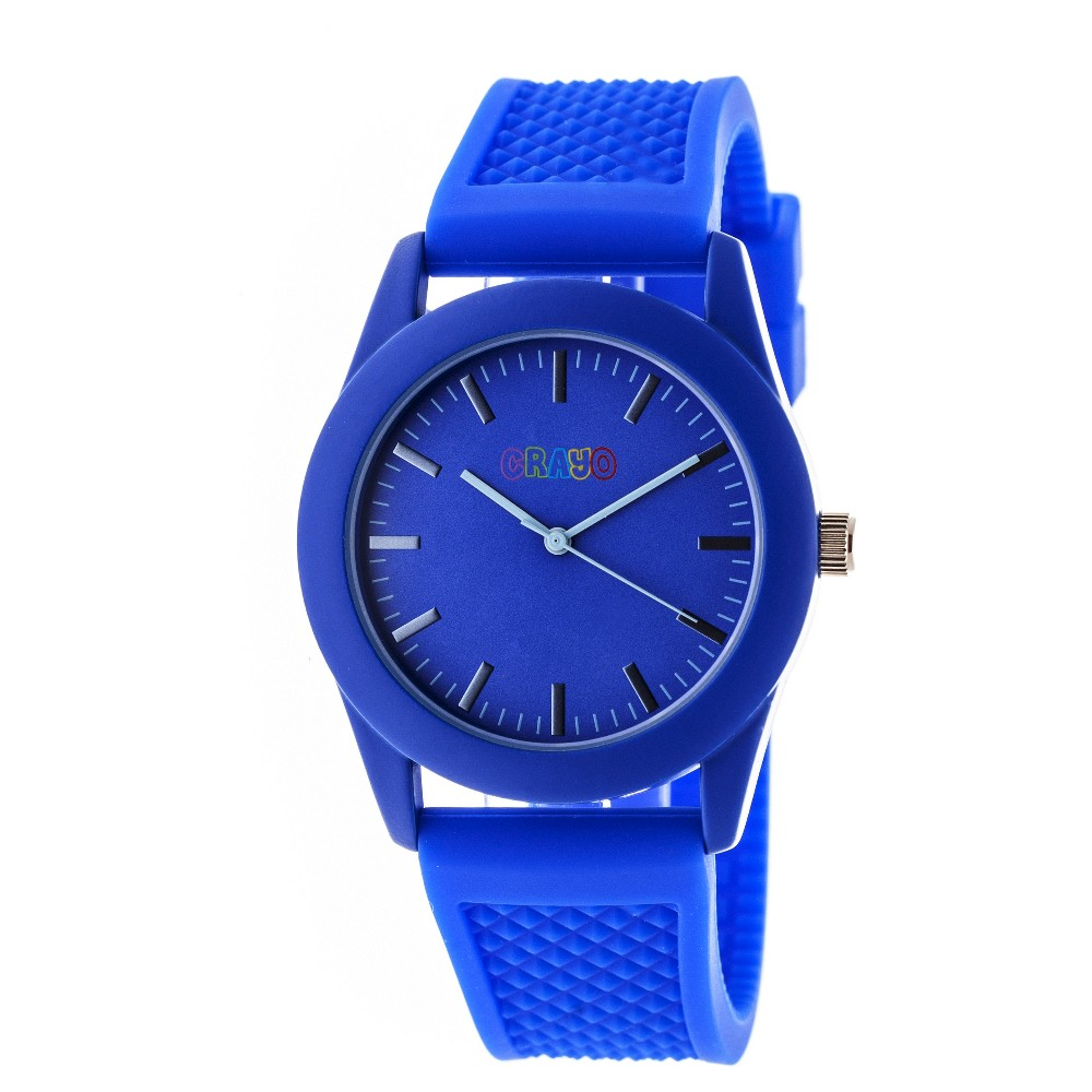 Image of Women's Crayo Storm Quartz Strap watch - Blue, Size: Small