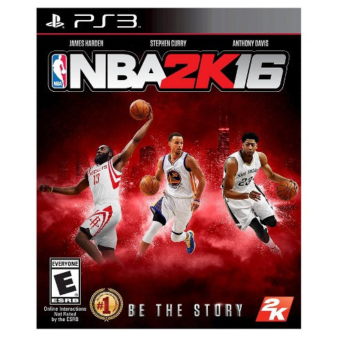 NBA 2K16 PRE-OWNED PlayStation 3 - image 1 of 1