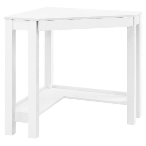 George Corner Desk White - Room & Joy - image 1 of 4