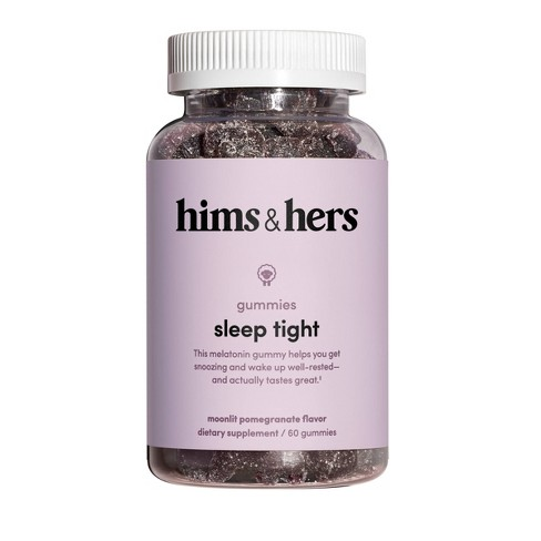hims & hers Sleep Gummies - Melatonin - Pomegranate Berry Flavor - image 1 of 3