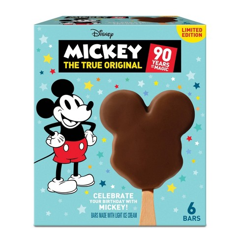 Disney Mickey Mouse Ice Cream Bars - 6ct - image 1 of 4