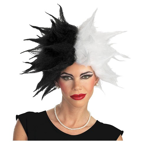 Adult Costume Wig Cruella - One Size Fits Most - image 1 of 1
