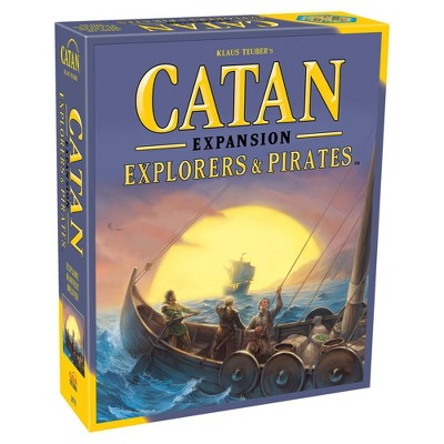 Catan Explorers & Pirates Board Game