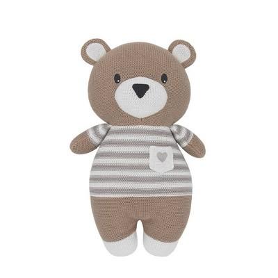 Living Textiles Baby Stuffed Animal - Brody Bear