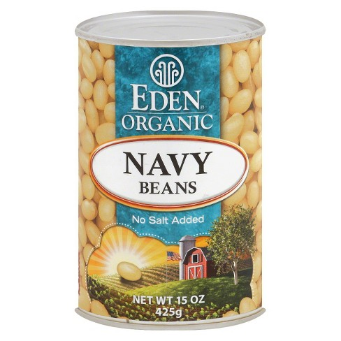 Eden Organic Navy Beans 15 oz - image 1 of 1