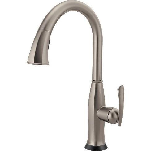 Brizo 64096LF Coltello Pull-Down Kitchen Faucet