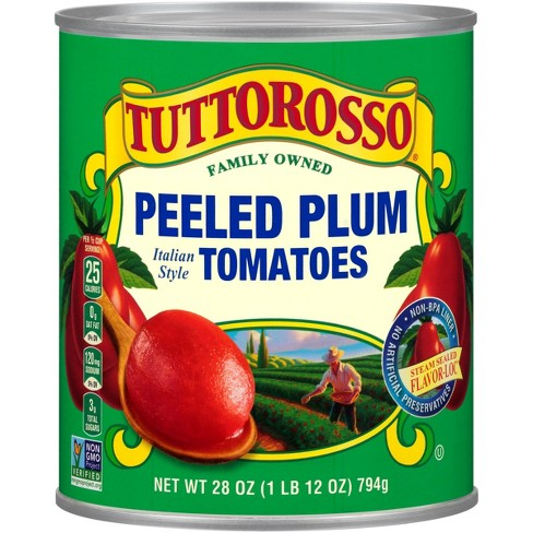 Tuttorosso Peeled Plum Shaped Tomatoes 28 oz - image 1 of 1