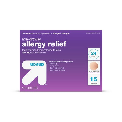 Allergy & Sinus: up & up Non-Drowsy Allergy Relief (Compare to Allegra)