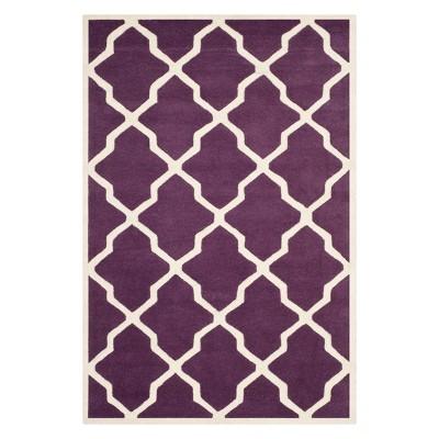 Billie Quatrefoil Design Tufted Accent Rug - Safavieh