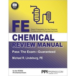Ppi Fe Chemical Review Manual, 1st Edition (Paperback) - Comprehensive Review Guide for the Ncees Fe