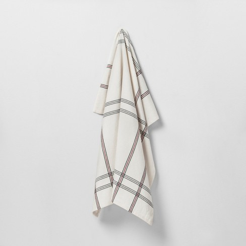 Kitchen Towel Striped Red/Black - Hearth & Hand™ with Magnolia - image 1 of 1