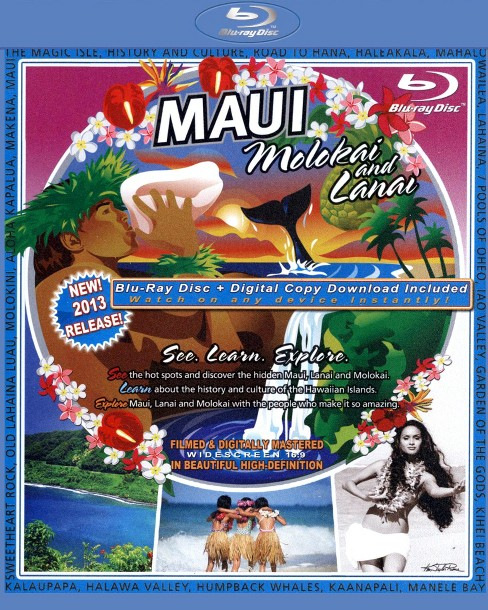 The Video Postcard of Maui, Molokai and Lanai (Blu-ray) - image 1 of 1