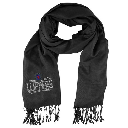 NBA Los Angeles Clippers Black Pashi Fan Scarf - image 1 of 1