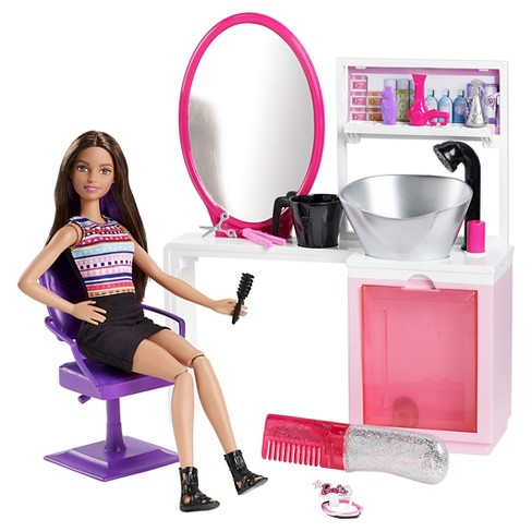 Barbie Sparkle Style Salon Giftset - African American - image 1 of 8